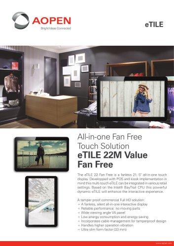 Specsheet Panel PC eTILE 22M-FB
