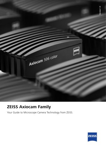 ZEISS Axiocam Family
