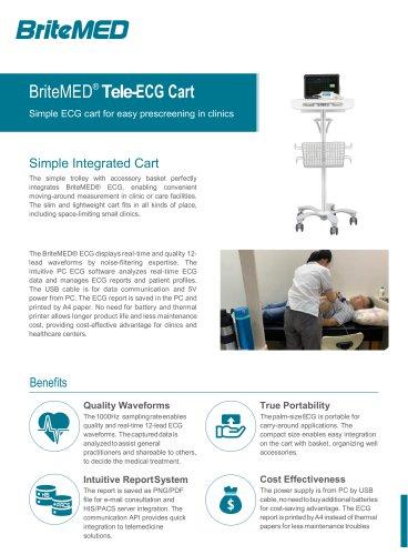 BriteMED Clinic PC ECG_ECG-D12-10BI