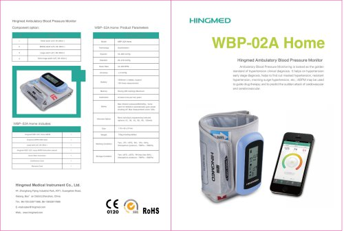 WBP-02A Bluetooth ABPM
