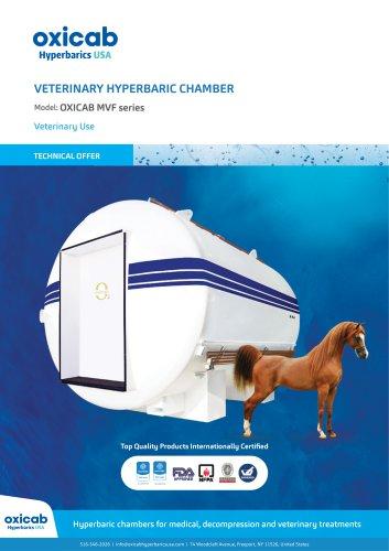 Hyperbaric Veterinary Chamber - MVF Series