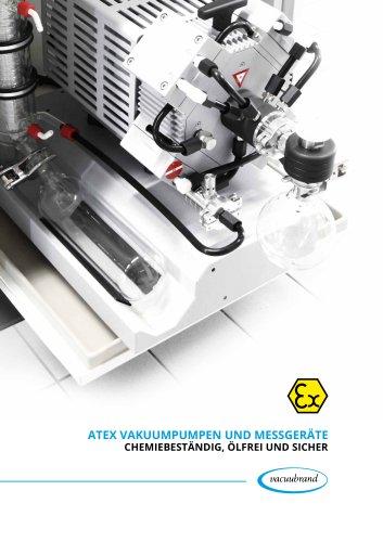 ATEX VAKUUMPUMPEN und messgeräte