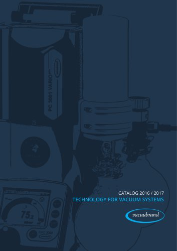 Catalog Technology for Vacuum Systems