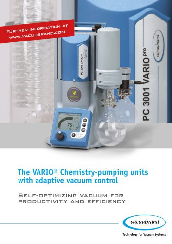 VARIO Chemistry pumping units / PC 3001 VARIO pro
