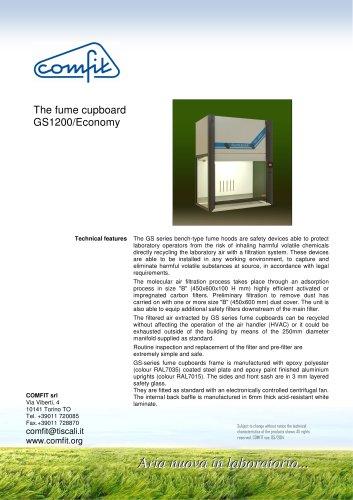 The fume cupboard GS 1200/Economy