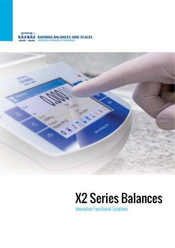 X2 SERIES BALANCES