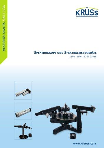 Spektroskope und Spektralmessgeräte