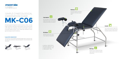 MC-C06 Gynecology Table