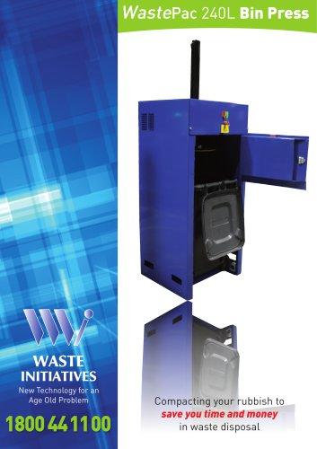 WastePac 240L Bin Press