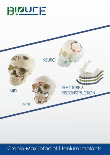 CMF/Cranio maxillo Facial Plating System