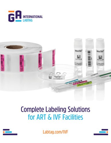 Labels for ART & IVF facilities - Labtag.com