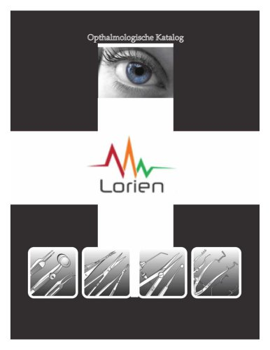 Ophthalmic Instruments Product Catalog