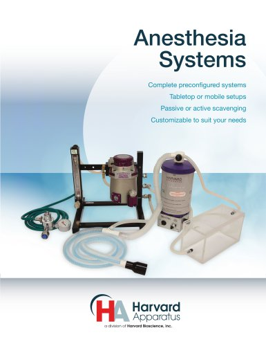 Anesthesia Systems