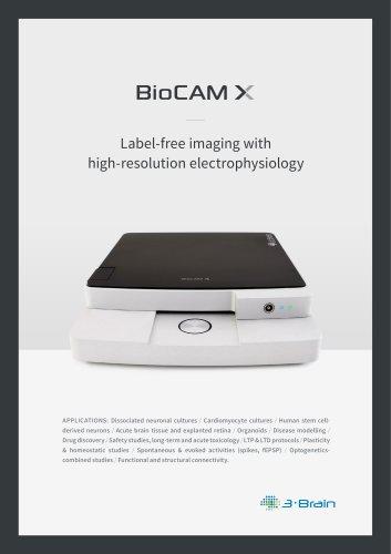 BioCAM X brochure