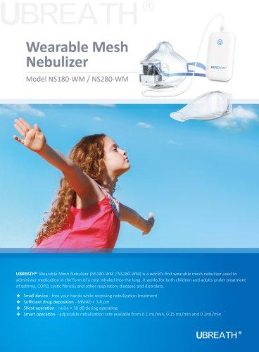 UBREATH Wearable Mesh Nebulizer