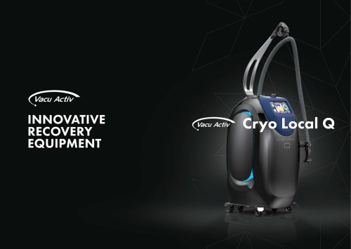 Cryo Local Q - Localized cryotherapy