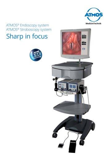 ATMOS Endoscopy / Stroboscopy System