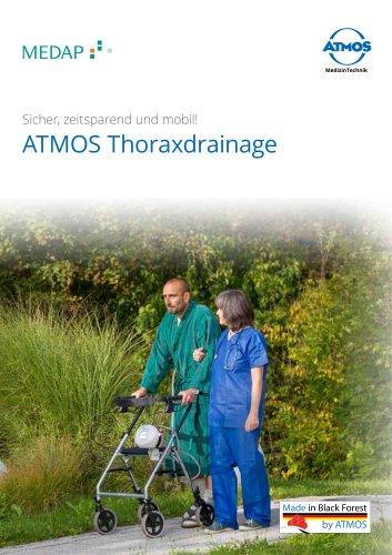 ATMOS Thoraxdrainage