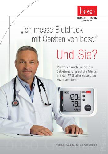 Blood pressure monitors for patients - DE