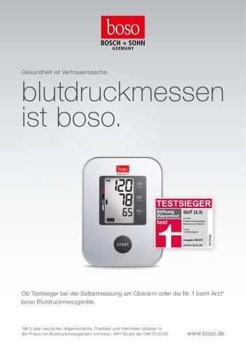 Broschüre Blutdruckmessgeräte