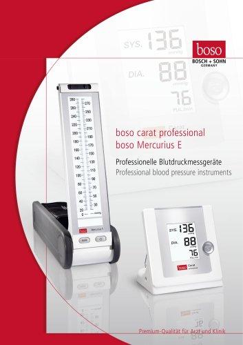 Mercury-like blood pressure monitor