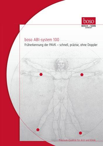Systolic pressure monitor Boso-ABI - DE