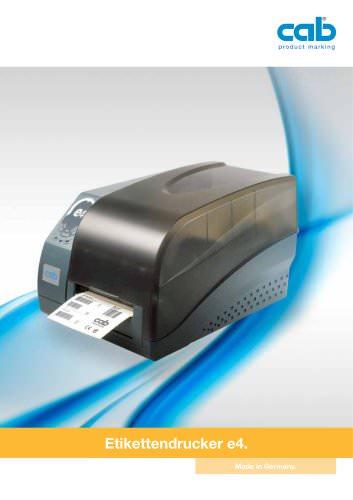 Etikettendrucker e4
