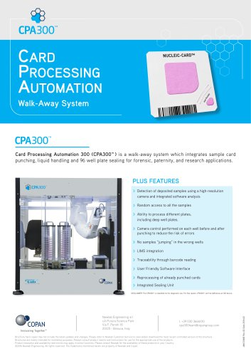 Card Processing Automation 300™ (CPA300™)