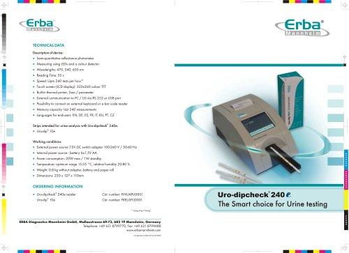 Uro-dipcheck 240