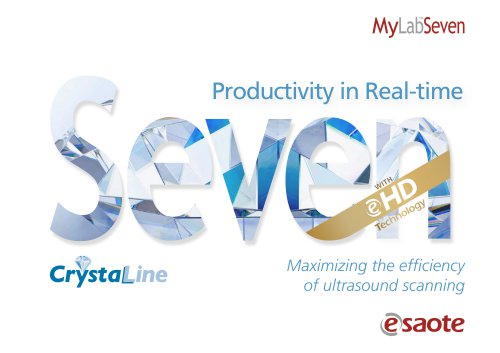 MyLab™Seven eHD & CrystaLine Technology - Brochure