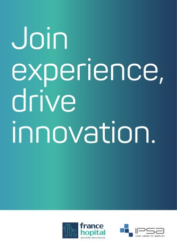Join experience, drive innovation