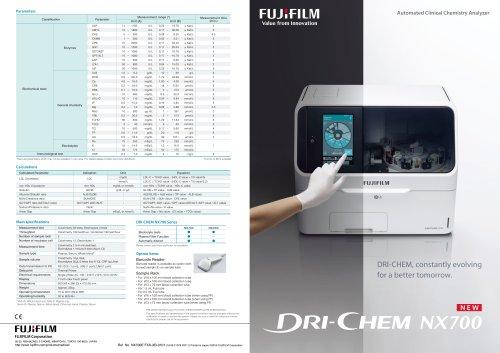 DRI-CHEM NX700