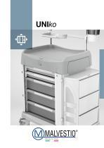 UNIko medical trolley