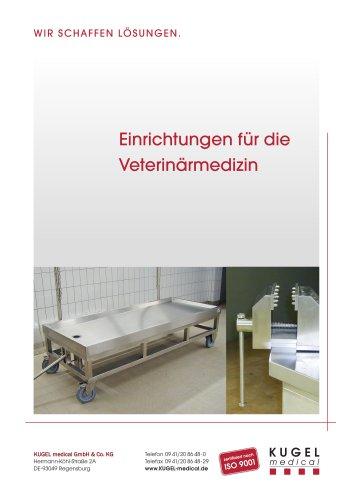 Einrichtungen für die Veterinärmedizin