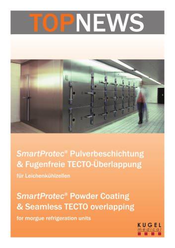 SmartProtect Pulverbeschichtung & Fugenfreie TECTO-Überlappung