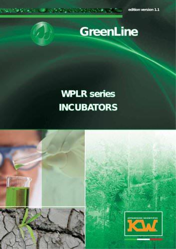 WPL - WPLR series INCUBATORS