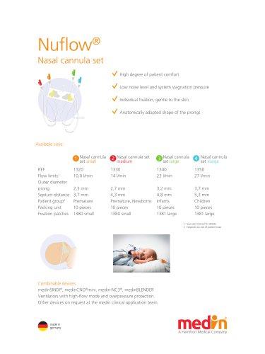 Promo Sheet Nuflow