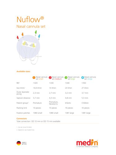 Technical Specifications Nuflow