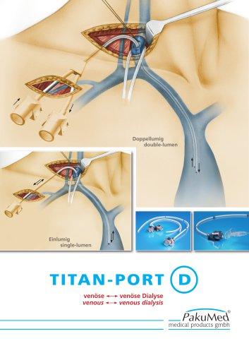 TITAN-PORT DIALYSIS