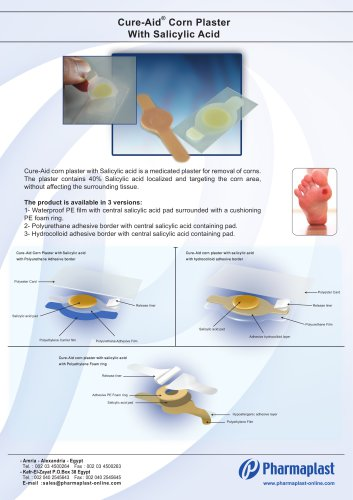 Cure-Aid Corn Plaster with Salicylic Acid