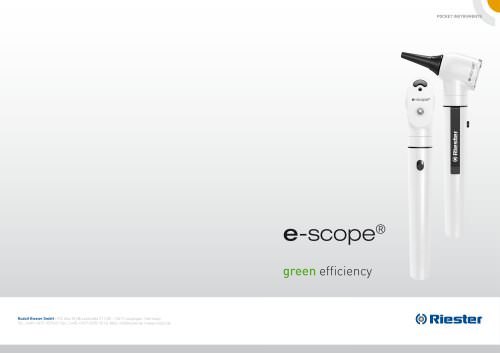 e-scope®