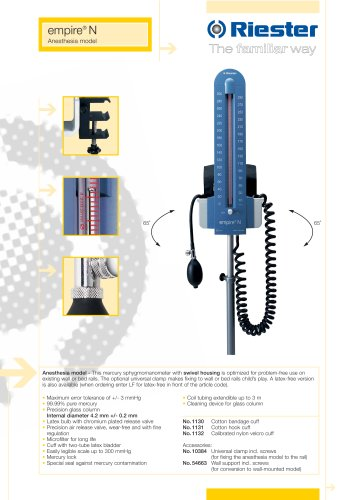 empire®N Anesthesia model