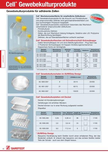 Cell+ Gewebekulturprodukte