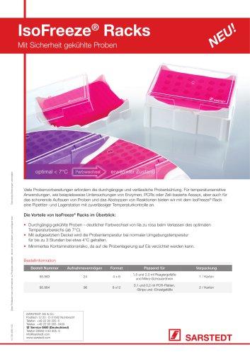 IsoFreeze® PCR-Racks