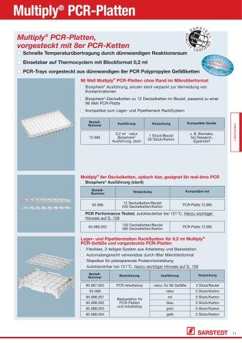 Multiply® PCR-Platten