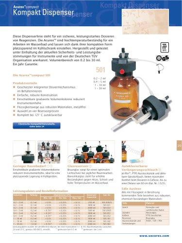 Acurex™ Kompakt-Dispenser
