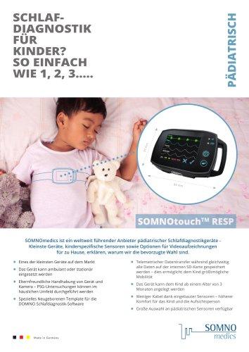 SOMNOtouch™ RESP für Pädiatrie
