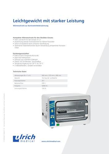 Produktblatt Wärmeschrank