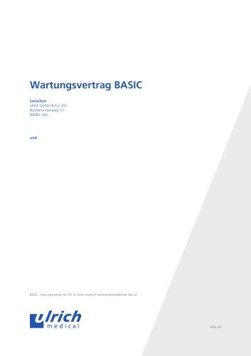 Wartungsvertrag BASIC