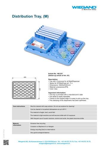 Distribution Tray, (M)